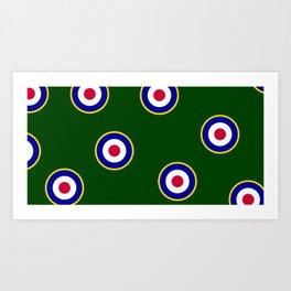 RAF Insignia Art Print