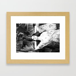 """High By The Beach"" Framed Art Print"