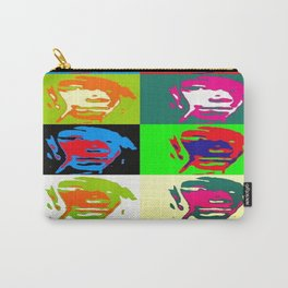 Free In Colorfulness Carry-All Pouch