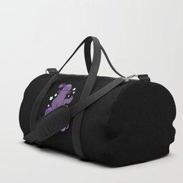 Feline Familiar 02 // Black Duffle Bag
