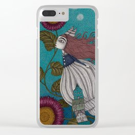 The Little Mermaid (1) Clear iPhone Case