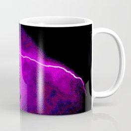 lightning burns the sky Coffee Mug
