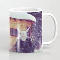 montana Mugs featuring Montana by Art Department Bunny