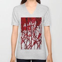 BLOODY VEINS  Unisex V-Neck