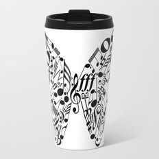 Music butterfly Travel Mug