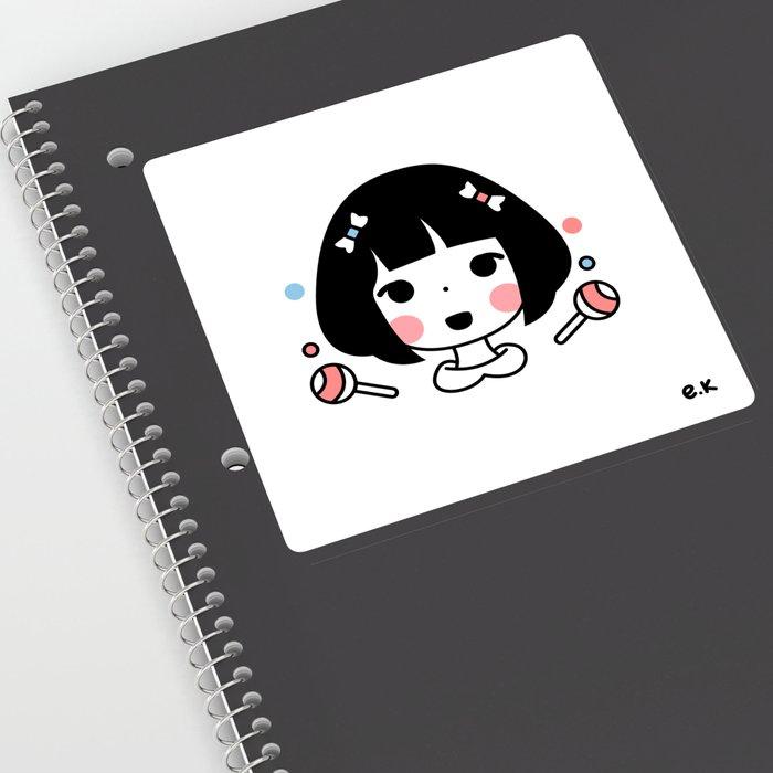 Kawii Girl Sweet Sticker