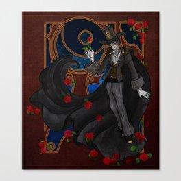 Steampunk Tuxedo Mask Canvas Print