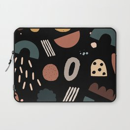 Geo Shapes Luxe Laptop Sleeve