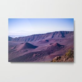 Haleakalā Sunrise On The Summit Maui Hawaii Kalahaku Metal Print