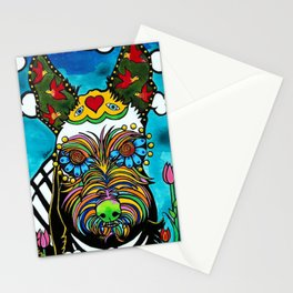 Buster the Schnauzer Stationery Cards
