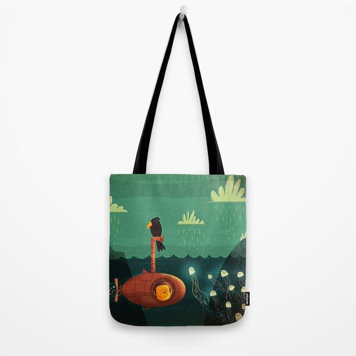 Submarine Tote Bag