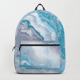 Ocean Foam Mermaid Marble Backpack
