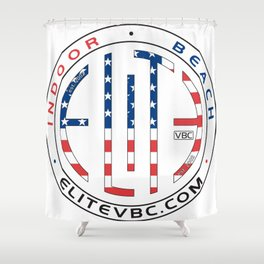 Updated Elite USA for Club use Aug11,2015 Shower Curtain