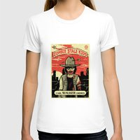 grimes T-shirts featuring Walker Grimes by Stationjack