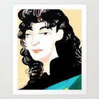 Deanna Troi Art Print