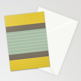 Stripe Pattern VI Stationery Cards