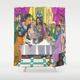 The ArtPostles Shower Curtain