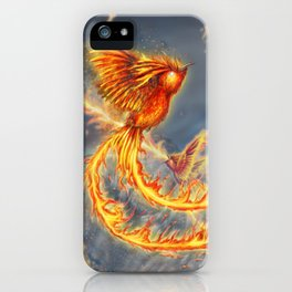 Hummingbird Phoenix iPhone Case