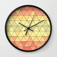 venice Wall Clocks featuring Venice by Dorothy Leigh