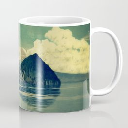 Distant Blues Coffee Mug