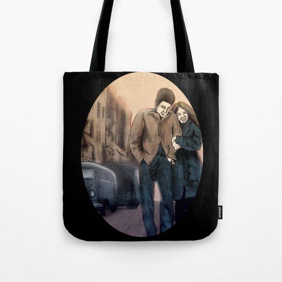 Freewheelin' Tote Bag
