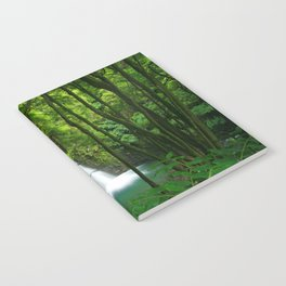 Waterfall in the Azores Notebook