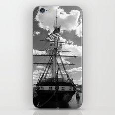 Baltimore Harbor - USS Constellation iPhone & iPod Skin