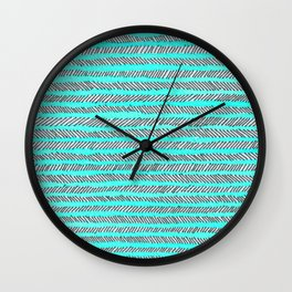 Arrow - Blue Wall Clock