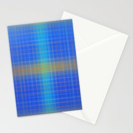 Glow Big Plaid Stationery Cards