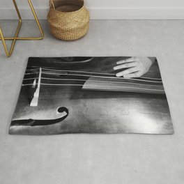 Jazz Bass Poster Rug