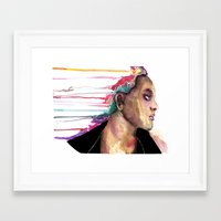 sister Framed Art Prints featuring Sister by Siriusreno