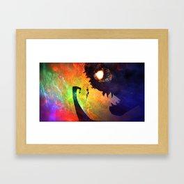 Monster Man Framed Art Print