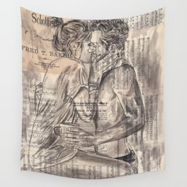 Morning Kiss Wall Tapestry