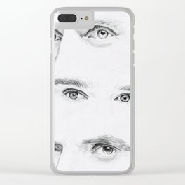 British Eyes Clear iPhone Case