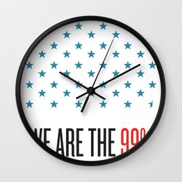 The Star Don't Lie Wall Clock