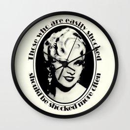 Mae West Wall Clock