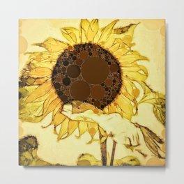 :: Sunshine in a Flower :: Metal Print
