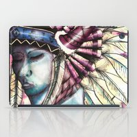 native american iPad Cases featuring Native by Siriusreno