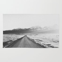 ON THE ROAD XX / Iceland Rug