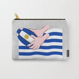Uruguay Rugby Flag Carry-All Pouch