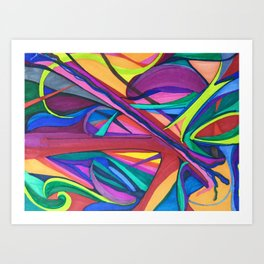 Color Exploration Art Print