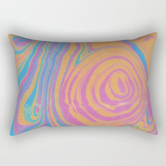 Suminagashi 01 Rectangular Pillow