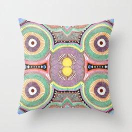 Primary Hypnosis Throw Pillow