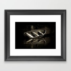 Resting Point Framed Art Print