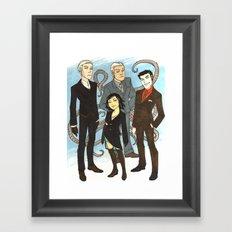 Suits Framed Art Print