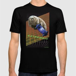 Tardigrade EXTREME 80's Space Skateboard T-shirt