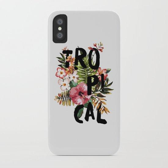 Tropical I iPhone Case