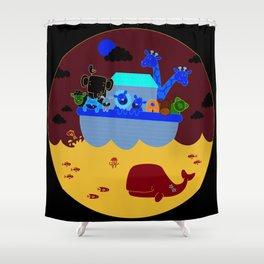 Noah's Arc Shower Curtain
