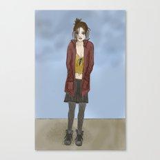 Black Days Canvas Print