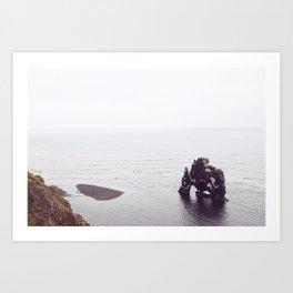 Hvítserkur, Iceland Art Print